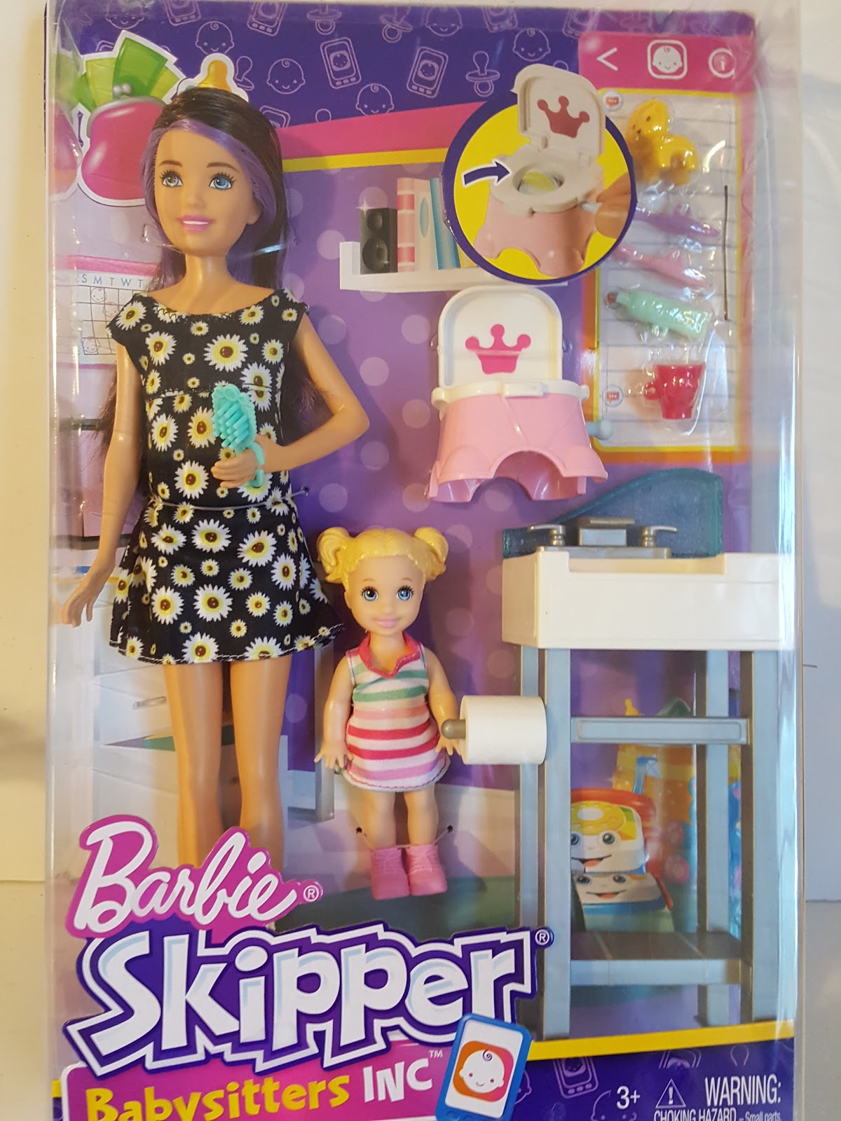 the one sixth scale dollhouse  more babysitting skipper sets