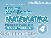 Buku Matematika Kelas 4 Kurikulum 2013 Tahun Pelajaran 2018 - 2019