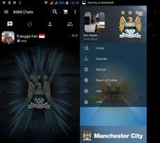 BBM Mod Manchester United v3.3.1.24 Apk (BBM MU Theme)