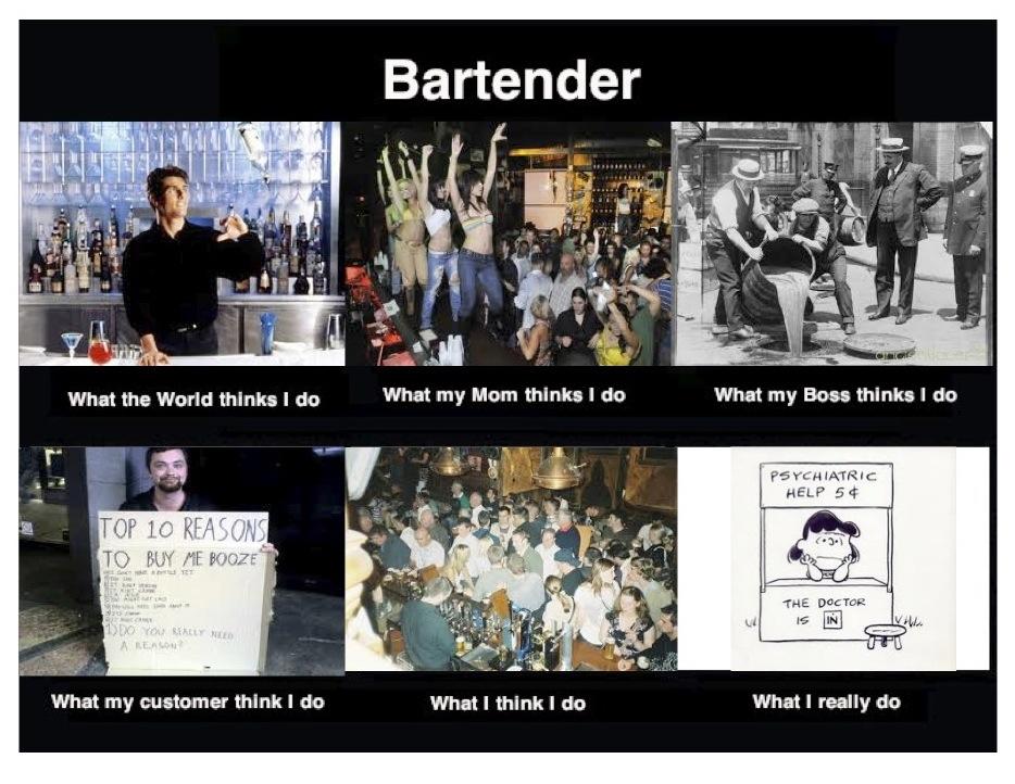 Teri Bayus Writing And Creating Bartender