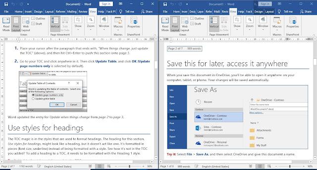 Cara Menampilkan Dua Halaman Berdampingan di Microsoft Word
