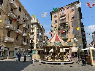 Piazza Ramera Ginocchio in La Spezia