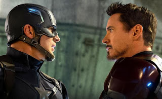 Captain America: Civil War Chris Evans Robert Downey Jr.