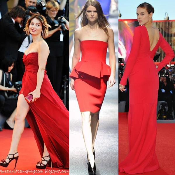 645edf8d94573 QUE ZAPATOS ME PUEDO PONER CON UN VESTIDO ROJO - Recomendaciones para  combinar vestidos rojos con