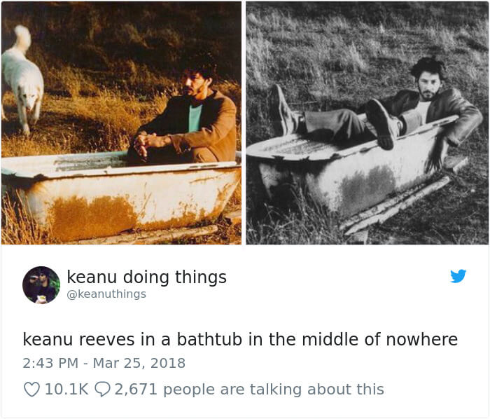We Couldn't Stop Laughing When We Saw These 26 Hilarious Pictures Of Keanu Reeves