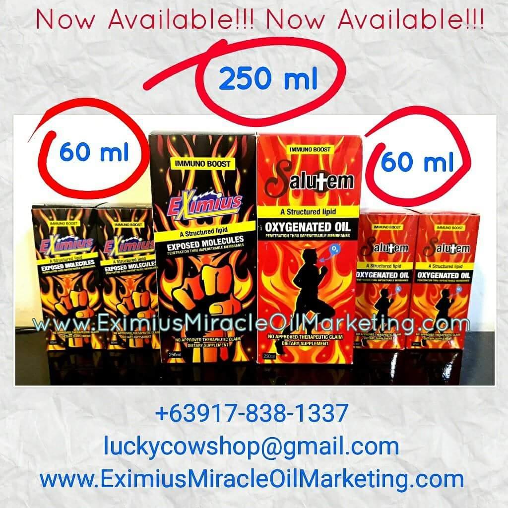 eximius oil salutem oil 250ml