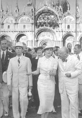 Magda y Joseph Goebbels de vacaciones en Italia