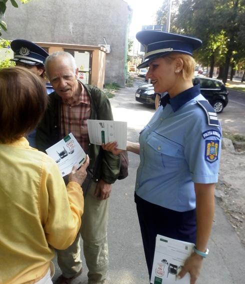 """POLIŢIŞTII BRĂILENI LANSEAZĂ CAMPANIA DE PREVENIRE """"HOŢII SUNT CREATIVI, FII PREVENTIV!"""""""