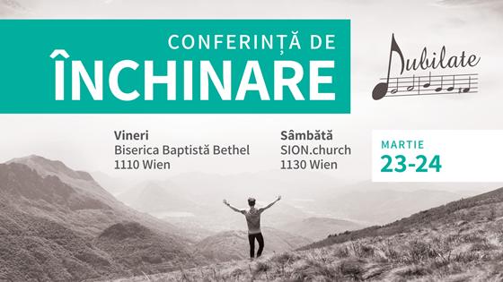 Conferință de Închinare Jubilate la Viena (Austria)