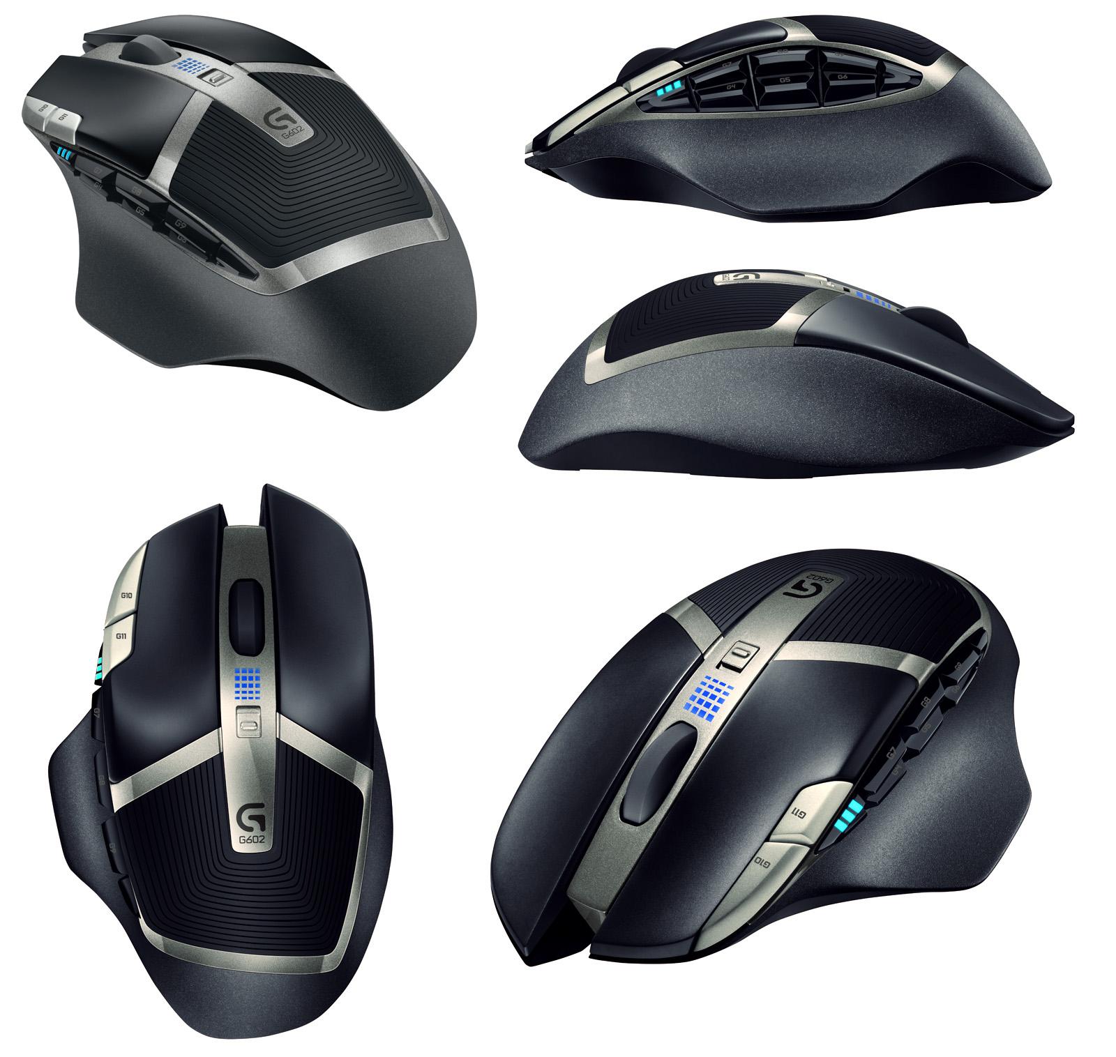 rigelt: Logitech G602 Mouse announced