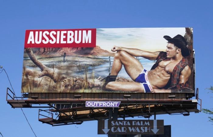 Brad Moller AussieBum underwear billboard