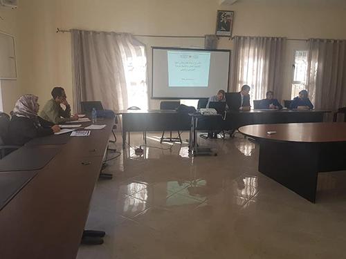 مديرية وزان : لقاء تواصلي تنسيقي في شأن نظام التوجيه المدرسي والمهني والجامعي بمديرية وزان .