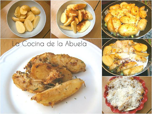 Patatas al Horno con Curry y Pimienta.
