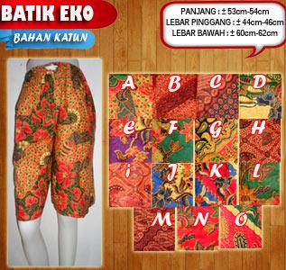 Jadi pria trendy dengan celana kolor batik mordern berkualitas harga murah