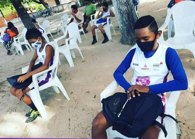 Escolinha de Futebol CTM retoma atividades em São José de Ribamar