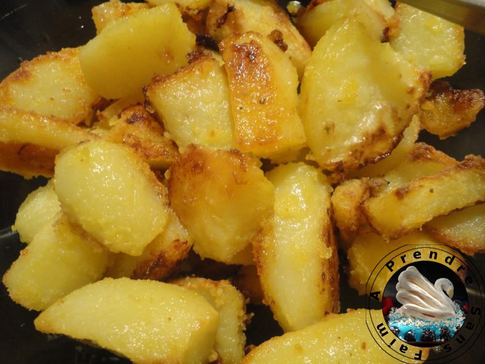 Pommes de terre braisées au four