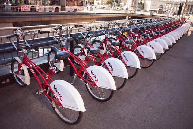 Бисинг - прокат велосипедов в Барселоне