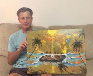 Surf Artist California Artist san Clemente Artist Paul Carter