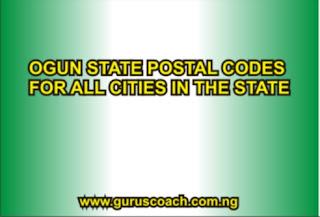 ogun state postal code