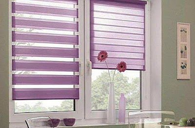 The best types of curtains and curtain design styles 2019, roller blinds and curtains