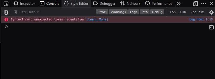 Developer Tool pada Firefox