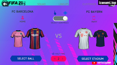 FIFA 21 MOD FIFA 14 Android Offline Meilleurs graphiques Nouveaux kits de visage de menu et dernière mise à jour de transfert
