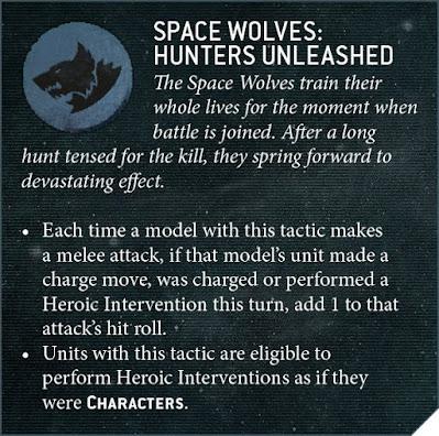 Tácticas de Capítulo Lobos Espaciales