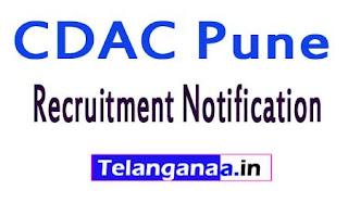 C-DAC Recruitment Notification 2017
