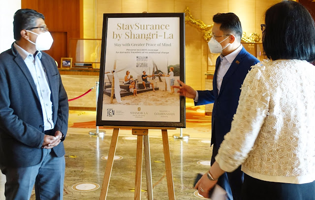 Shangri-La Group Welcome Back Staycation Guests with Fully Vaccinated & StaySurance Personal Accident Cover