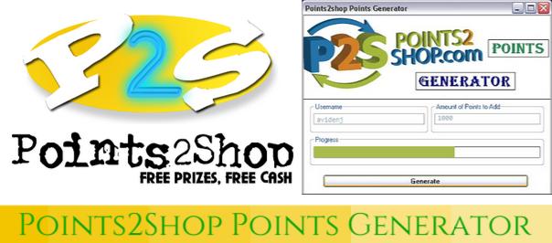 points2shop points generator v1.0