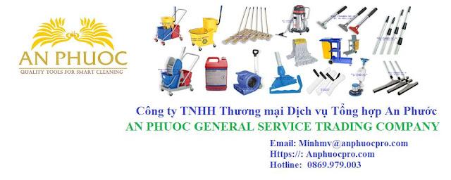 Công ty An Phước chuyên cung cấp dụng cụ vệ sinh và thiết bị làm sạch