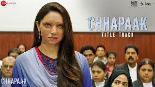 Chhapaak Lyrics Arijit Singh