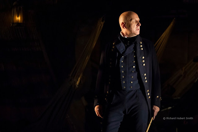 Britten: Billy Budd - Brindley Sherratt as Claggart, Glyndebourne 2013 (Photo Richard Hubert Smith)