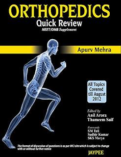 Orthopedics Quick Review for NEET/DNB apurv mehra pdf free download