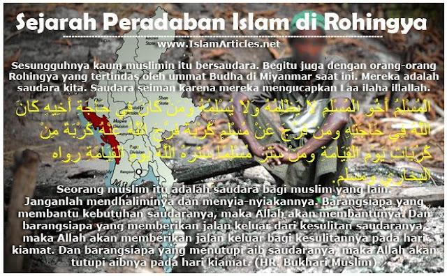 sejarah muslim rohingya