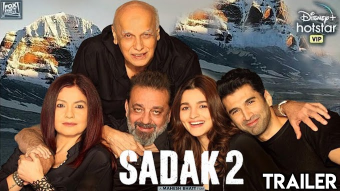 Sadak 2  Movie Download Leaked By TamilRockers