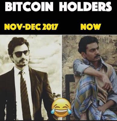 Bitcoin Holders 2017 vs 2018