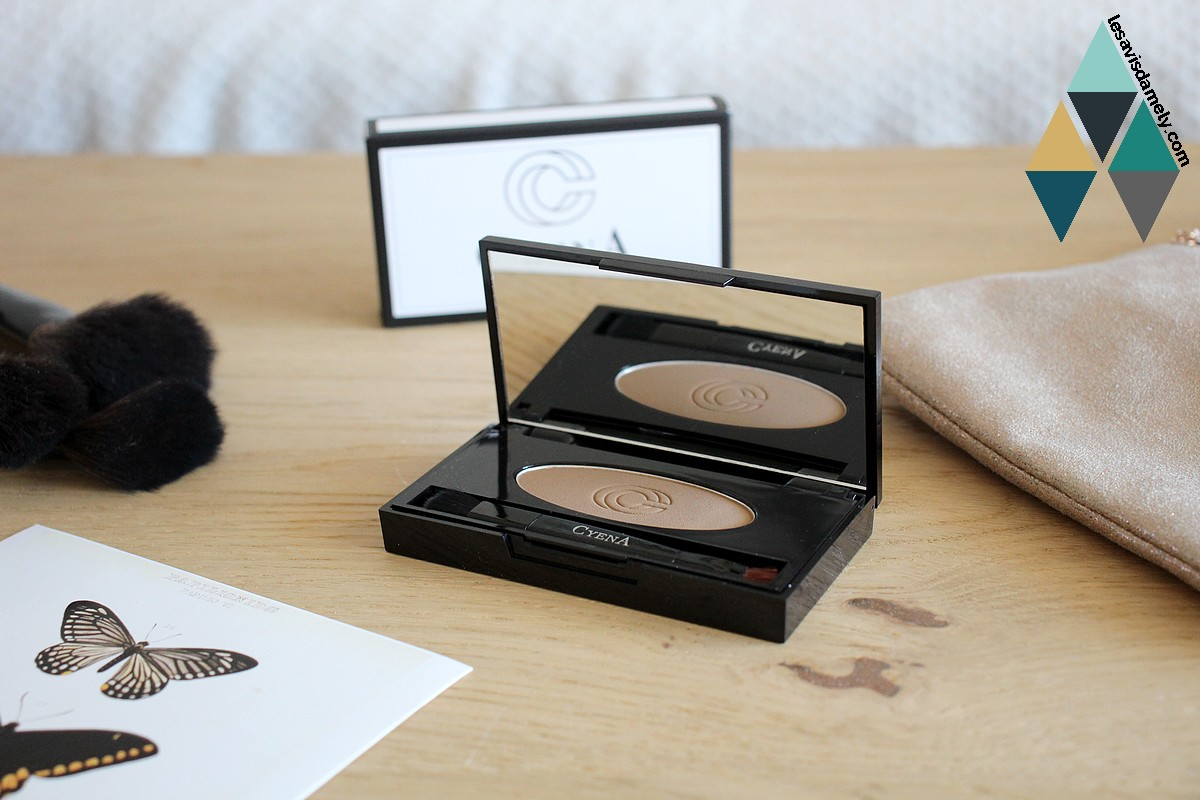 avis et test kit sourcils cyena makeup hairissime