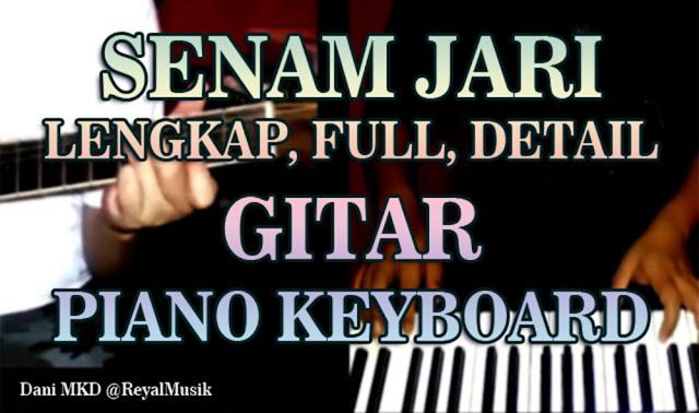 senam jari gitar, senam jari piano keyboard, latihan senam jari gitar / piano / keyboard, teknik fingering dasar