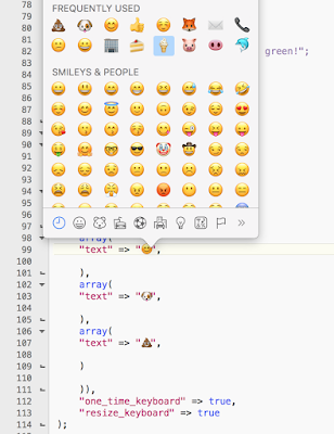 telegram bot emoji