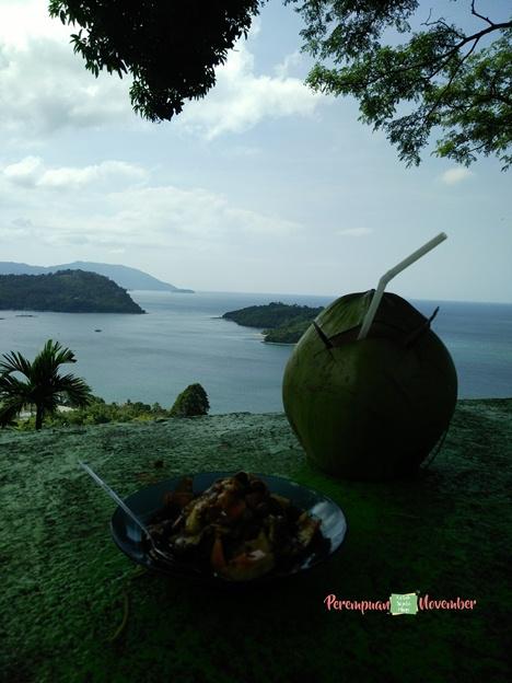 pulau klah di teluk sabang