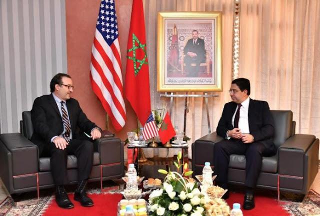 Dakhla: Schenker préside une délégation américaine en visite aux locaux du futur consulat des Etats Unis- photos