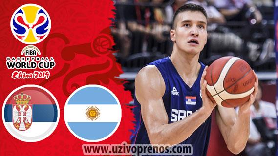 Četvrtfinale SP Košarka: Srbija - Argentina UŽIVO PRENOS