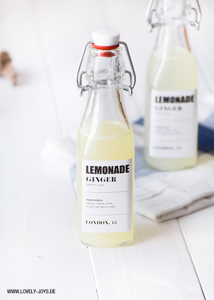 Rezept Ginger Beer Limonade