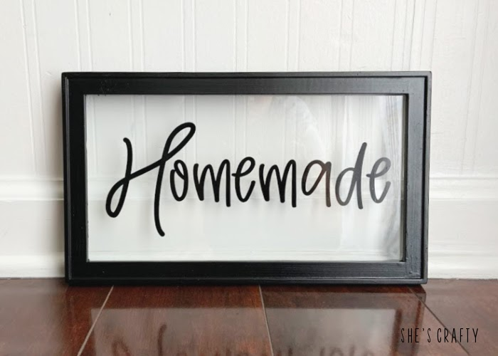 How to reused an old photo frame by making new Homemade word sign