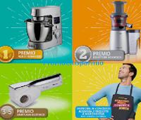Logo CRAI ''Gli ingredienti della tua domenica perfetta'': vinci Kenwood, Grattugia elettrica e 1 premio sicuro per tutti