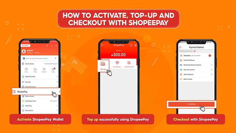 How to use ShopeePay