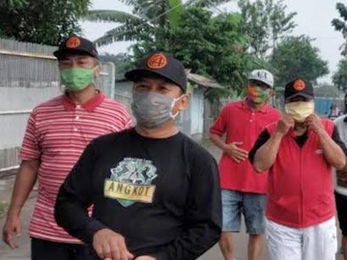 denda tidak pakai masker bandung