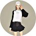 Batwing Sleeve Sweatshirt V1_가오리 소매 스웻셔츠 버전1_여자 의상