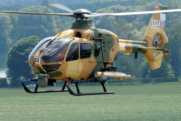 Airbus H135M helicopter